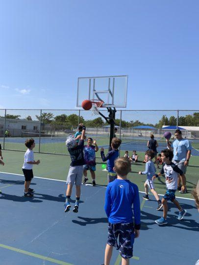 Students enjoying Gulliver Athletic Camps