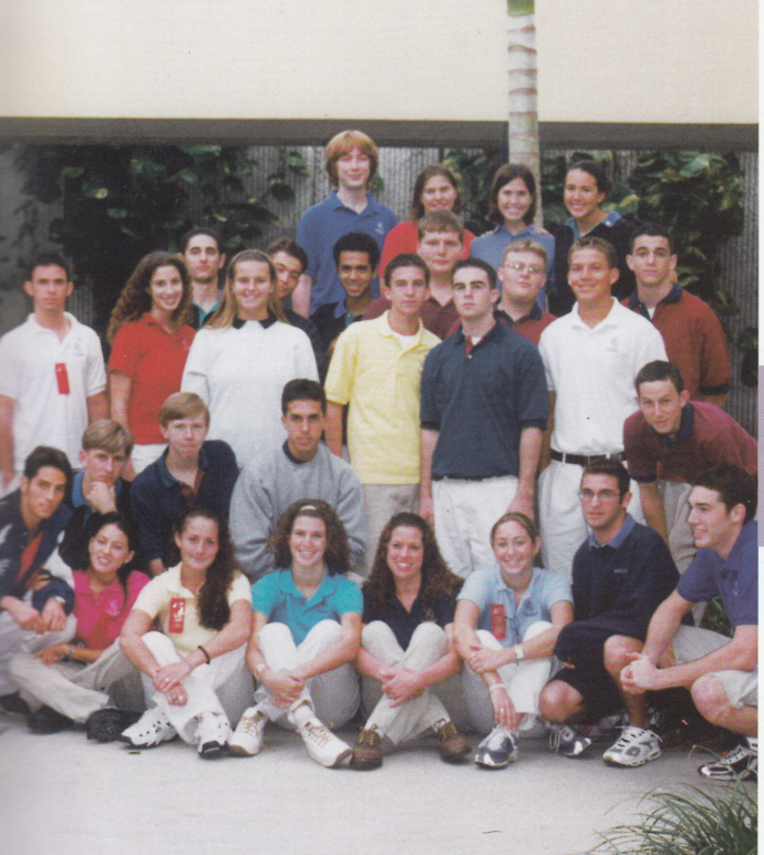 Group photo of Gulliver Lifer students in the 1990's