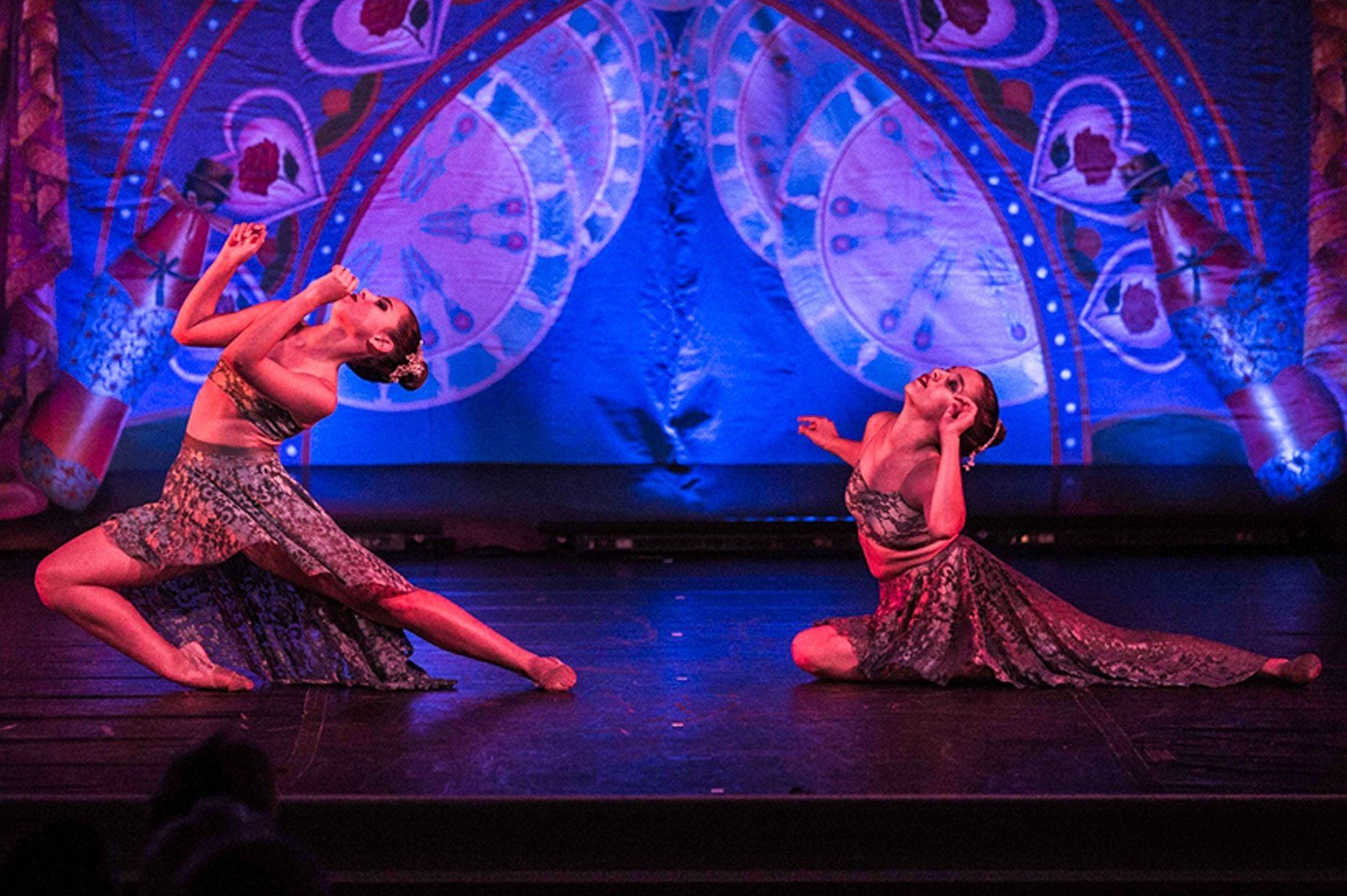 Upper school dancers