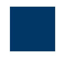 Blue whistle icon