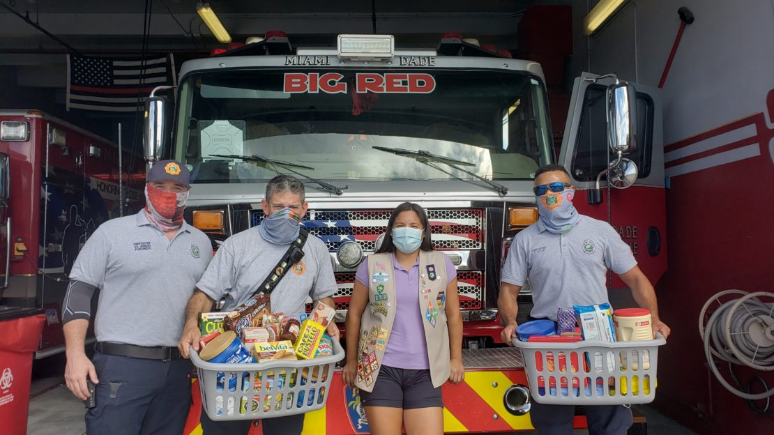 Julia Estrada '23 started a Thank a Firefighter project.
