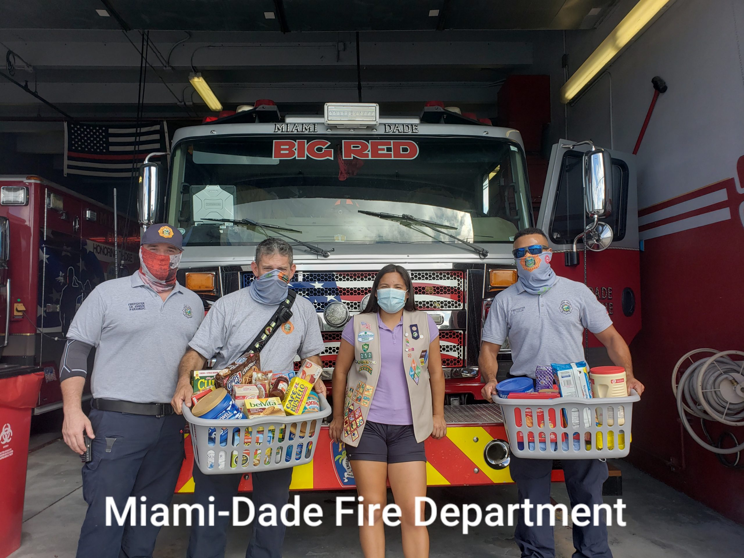Julia Estrada '23 started a Thank a Firefighter project.
