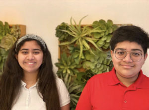 Rania Ishoof '24 and Nabeel Ishoof '26 participated in Florida International University's 305 Cafecito Chat
