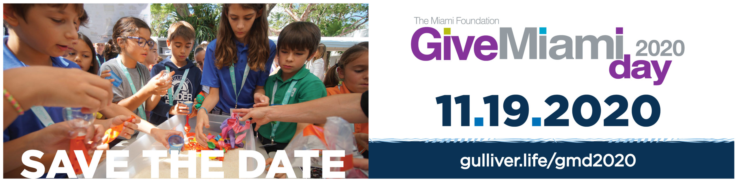 Save the Date Give Miami Day