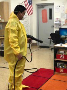 CBM disinfecting campuses