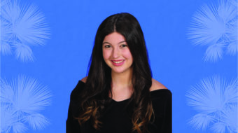 Olivia Pena '21 is a 2020-21 Silver Knight nominee.