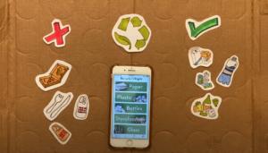 "Victoria ""Tori"" Hagenlocker '21 RecycleRight App Graphics"