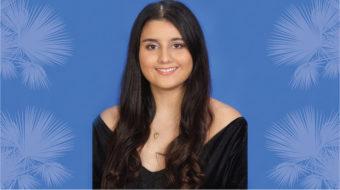 Sabrina Sharma is a 2021 Silver Knight nominee.