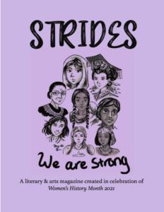 strides literary magazine cover