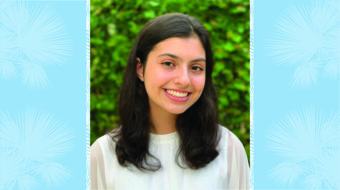 Victoria Paesano '23 Selected for Yale Young Global Scholars Program