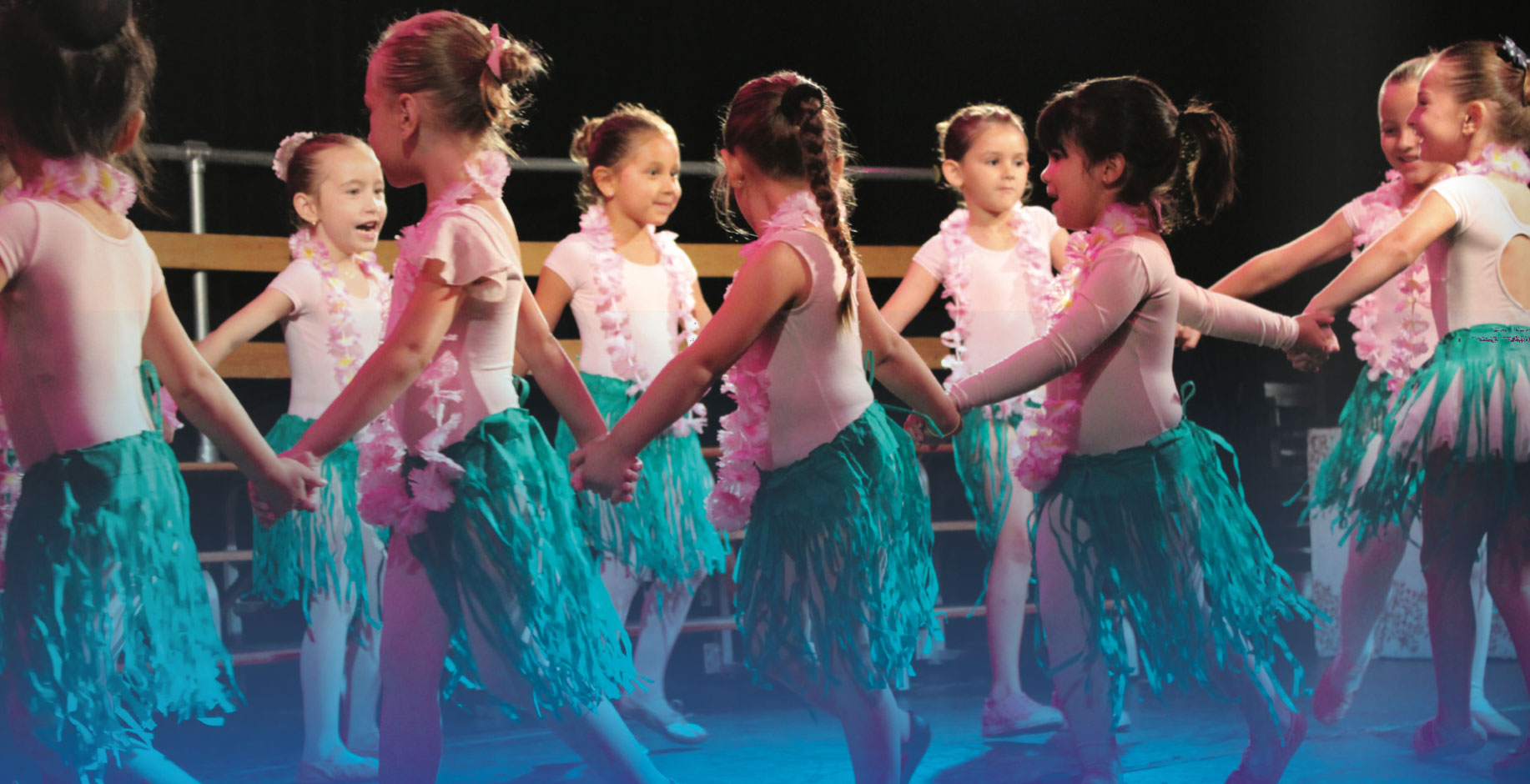 Primary and Lower school students performing a dance routine