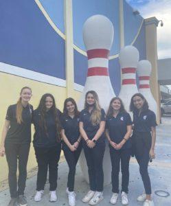 2021-22 Girls' Bowling Team