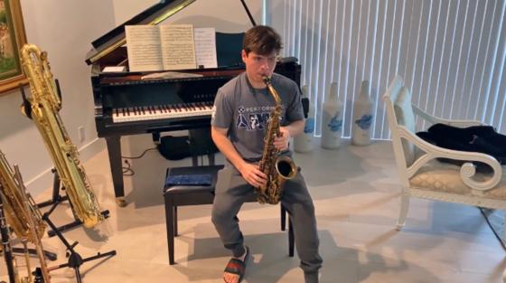 Brandon Suarez '21 was named to the Monterey Jazz Festival Announces 2021 Next Generation Jazz Orchestra