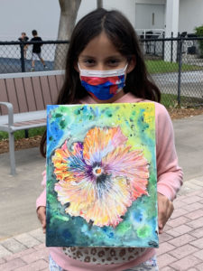 Carmen Sofia Gamboa Becerril '29 has placed first in Pinecrest Gardens' 7th Annual Environmental Art Contest for grades 4-6.