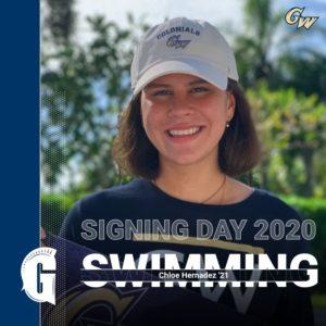 Chloe Hernandez '21 will attend George Washington University.