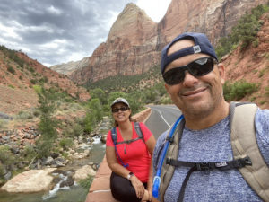 Mr. Charron visited a few National Parks this summer.