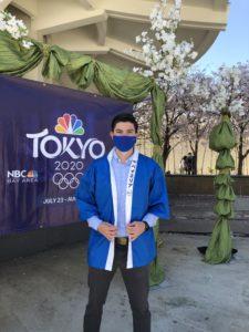Carlos Yustis '05 at Tokyo Olympics