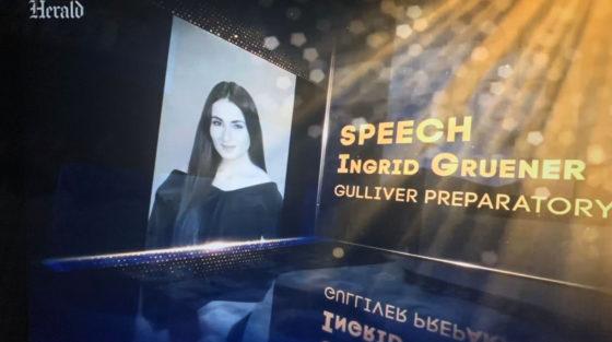 Ingrid Gruener '21 is a 2021 Silver Knight Award winner.