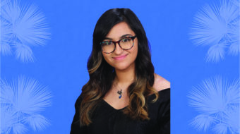 Maha Adnan '21 is a 2020-21 Silver Knight nominee.