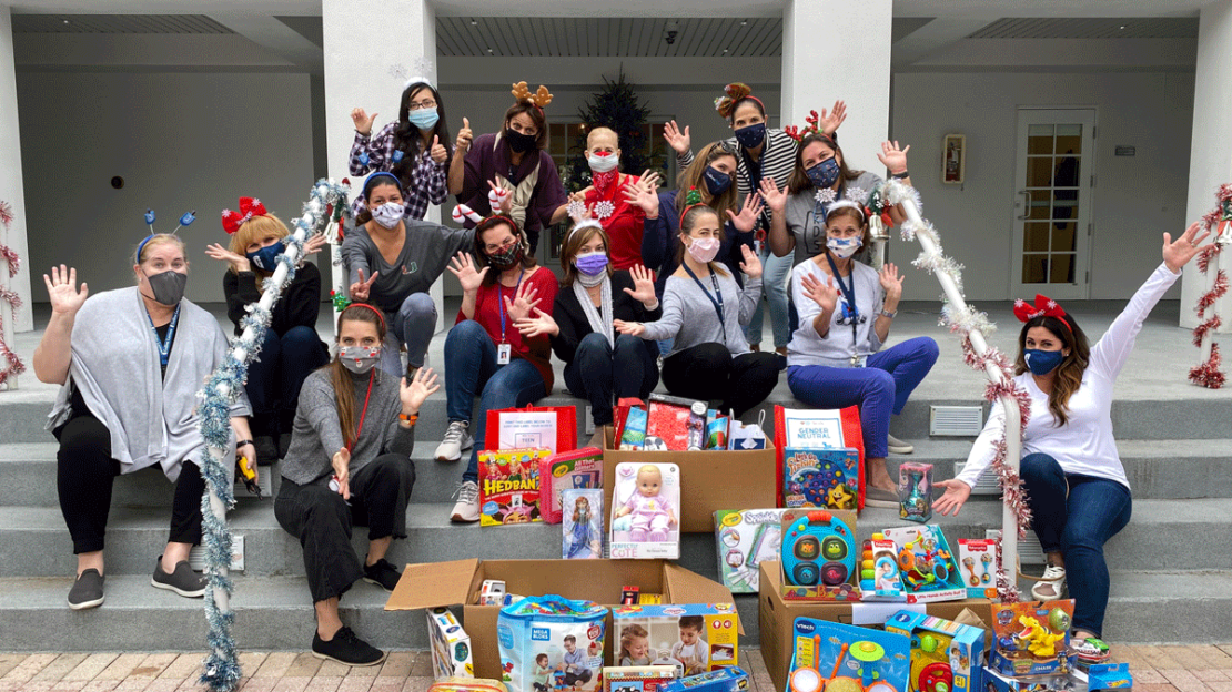 Primary and Lower School faculty and staff came together to give back to the community